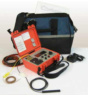 FlowKinetics FKT 2DP1A-C meter included kit